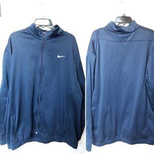 NikeGolf Tour Performance Blue Therma-Fit Jacket